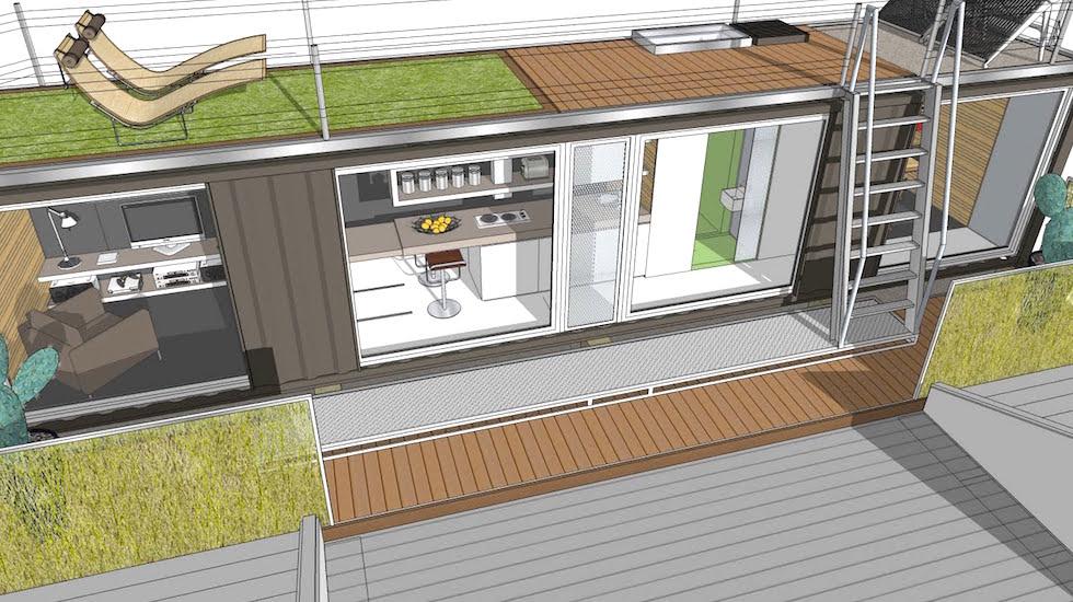 en crdoba tambin construyen casas con contenedores reciclados - Casas Con Contenedores