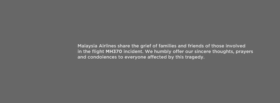 El avión de Malaysia Airlines se estrelló