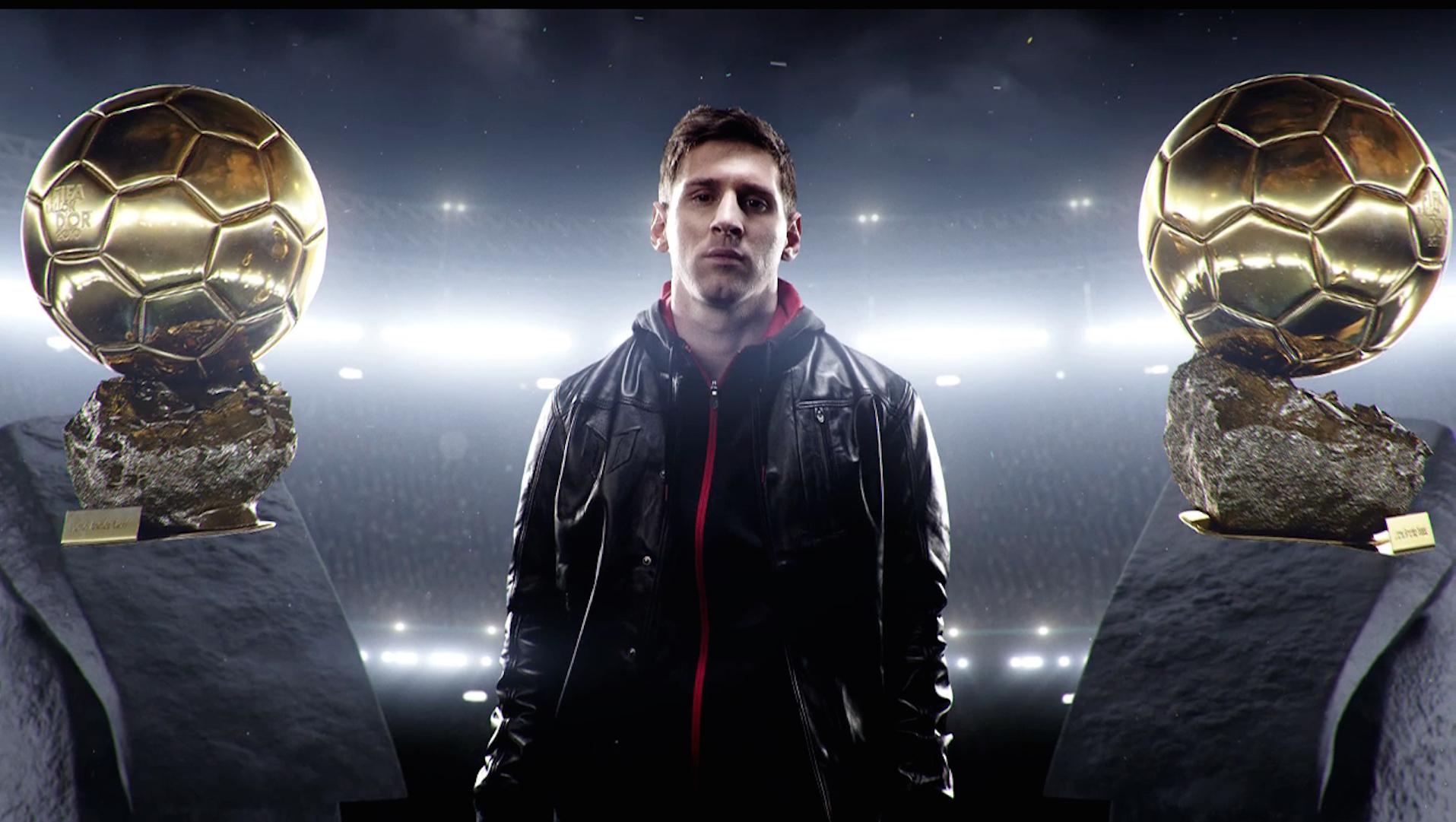 Los botines adidas para Messi que usará cuando gane el quinto Balón de Oro