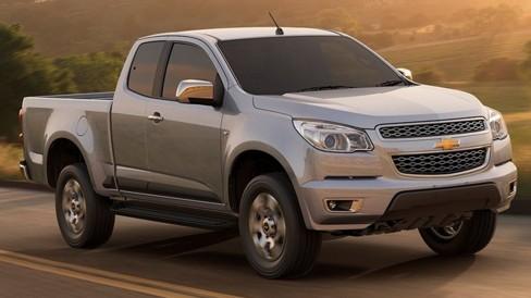 será en Brasil - la nueva Chevrolet Colorado . Impulso Negocios