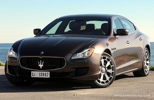 Naias 2013 Maserati Presento El Nuevo Quattroporte En El Salon