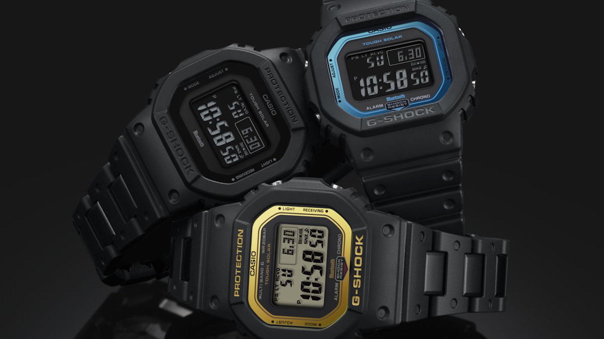 4a4b8109c21d Casio presentó su nuevo reloj G-Shock GW-B5600  Back To Origin